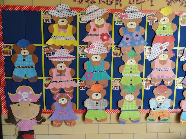 Think this would be fun during Teddy Bear Week. Let each child design their own bear.