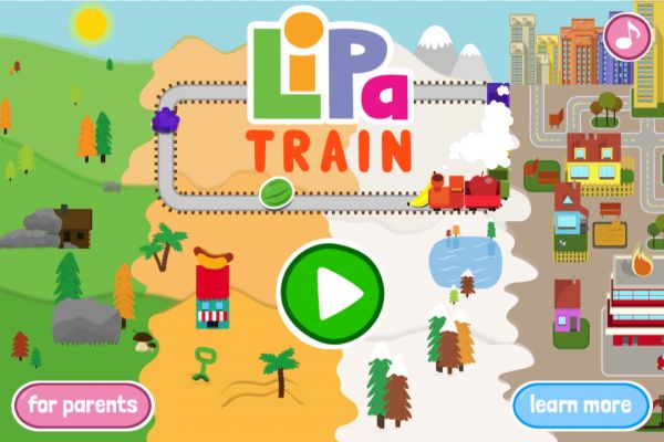 FREE Fantastic App Lipa Train!!!  Lipa Train develops children's Science skills and explores the relationship between actions and consequences. Pick up the fruity cargo by controlling the train and changing the points on the track. As the levels increase, there are all sorts of different lines and landscapes to discover.  Recommended age: 4-6 years