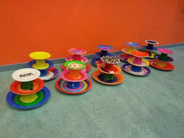 Kinderfeestje etagères maken