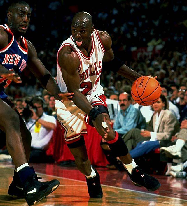 Anthony Mason & Michael Jordan