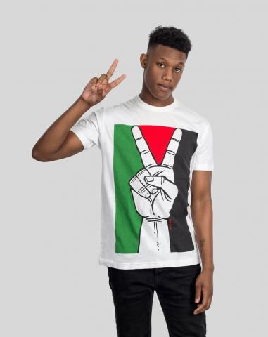GAZA CONFLICT: FREE PALESTINE SHIRT You can't fight for peace without a flag, so we put it on this Gaza t-shirt. Free Palestine!