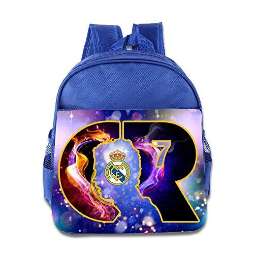 15 Cristiano Ronaldo CR7 Logo Real Madrid Football Kids School Backpack Bag ** Find out more about the great product at the image link.Note:It is affiliate link to Amazon.