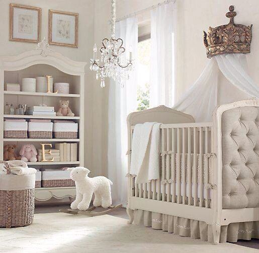 Perfect baby girl room!