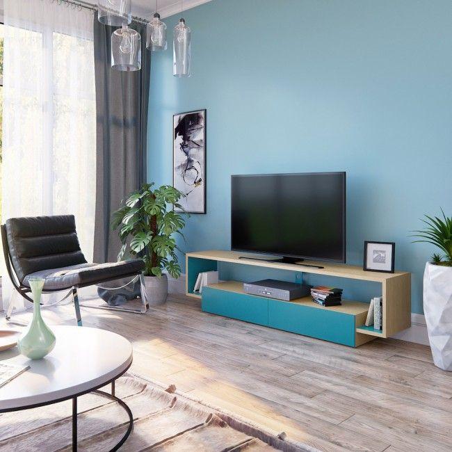 HappyModern.RU | Тумбочка под телевизор: 45 современных идей для гостиной (фото) | http://happymodern.ru
