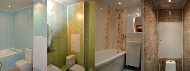 Ремонт ванной комнаты со скидкой. Отделка панелями ПВХ ванных комнат, санузлов, балконов - КупиКупон Поиск