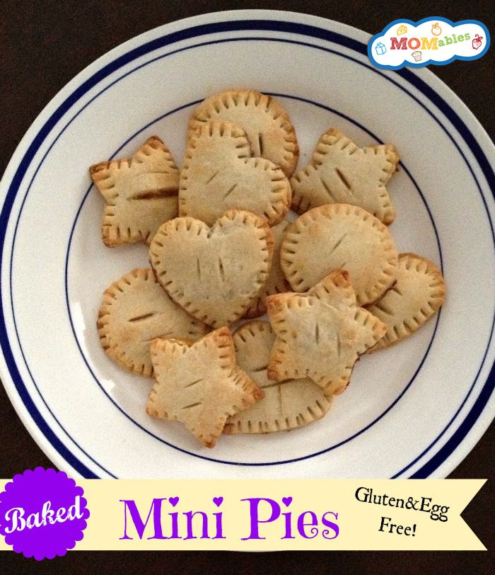 Baked Mini Pies – Gluten & Egg Free via MOMables.com