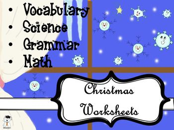 Hey, friends!I created this pack thinking about the last week before Christmas where we want to do holiday related activities, but also do some revision. Its full of holiday themed worksheets  grammar (parts of speech  verbs, nouns, adverbs, adjectives), vocabulary, writing prompts, science (facts about snowflakes), math (addition, subtraction).Inside you will find: Parts of Speech sort 1 pg.