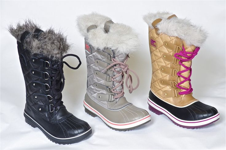 Tofino CVS by Sorel - Warm, waterproof and slush proof . 100 grams of insulation, non-slip outsoles and a faux fur cuff make Tofino by Sorel the perfect winter boot. Order yours now: http://bit.ly/1AwwVAr