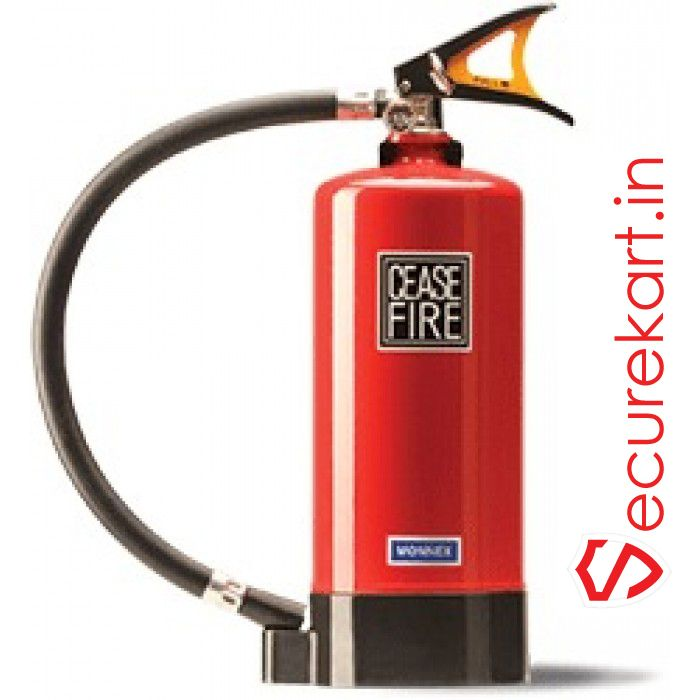 Fire extinguishers is  a products for extinguish the fire in  fire fighting situations .  Fire is a fire triangle working in triangle shape   Fire Triangle. Actually, it's a tetrahedron, because there are four elements that must be present for a fire to exist. There must be oxygen to sustain combustion, heat to raise the material to its ignition temperature, fuel to create the  situation for   combustion and a chemical reaction between the other three elements.