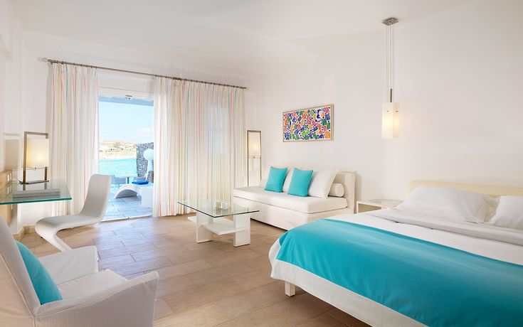 Enjoy a luxury experience in Mykonos! The Petasos Beach Executive Suites offer a private living room, a large bedroom and two Spa bathrooms.  https://www.petasos.gr/accommodation/suites/#executive-suites   #PetasosBeach #Mykonos #PlatisGialos #Petasos #Beach #Summer2017 #Summer #SummerHolidays #SummerVacation