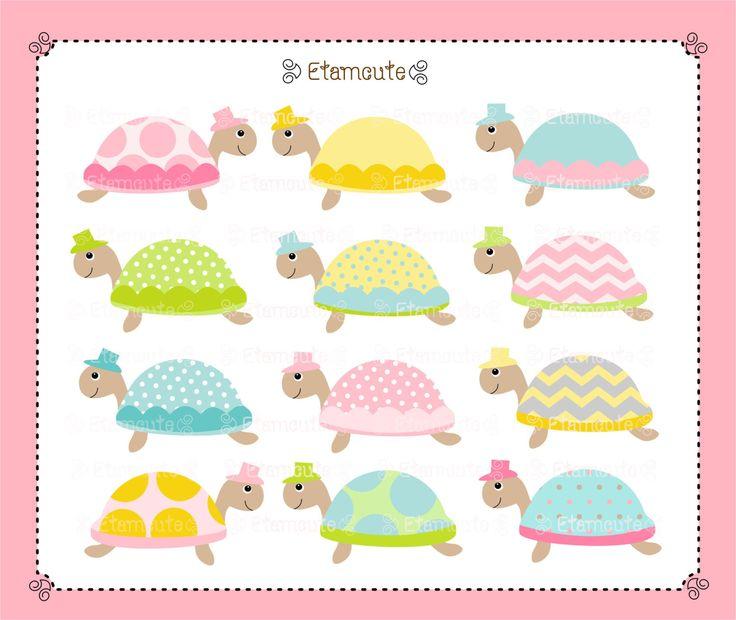Turtle Clip Art Cute Animal Clip Art Baby Shower Clip Art Babys Invites Instant Download Clip Art Turtle Clip Art Cute Turtle Cartoon Animal Clip Art