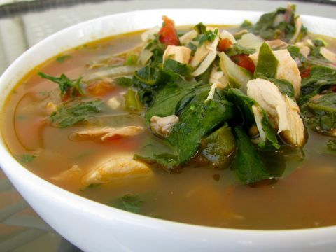 Swiss Chard and Chicken Soup. Get the full recipe here: http ...