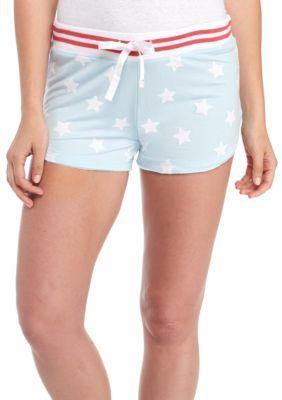 Honeydew Intimates Girls' Lounge Lover Usa Shorts - Topaz Stars - Xl