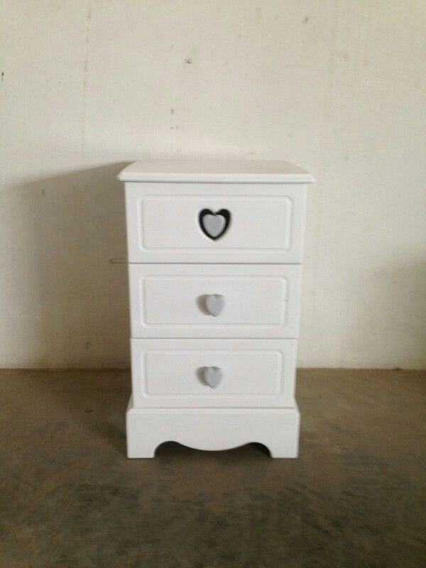bed side table shabby