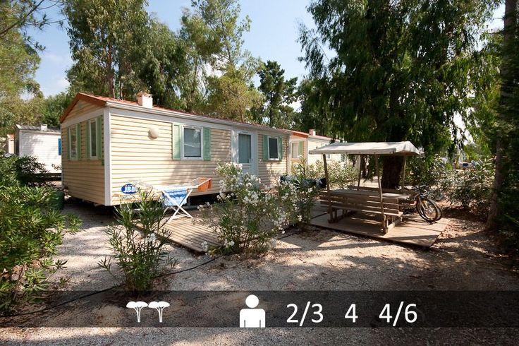 Location de mobile-homes Classique® en camping dans le Var : mobile-home pas cher !