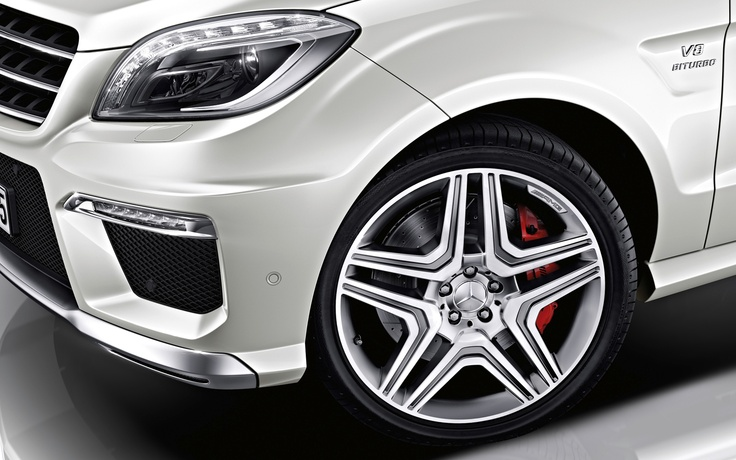 2013-Mercedes-Benz-ML-63-AMG-wheel-and-head-light Photo on February 8, 2013