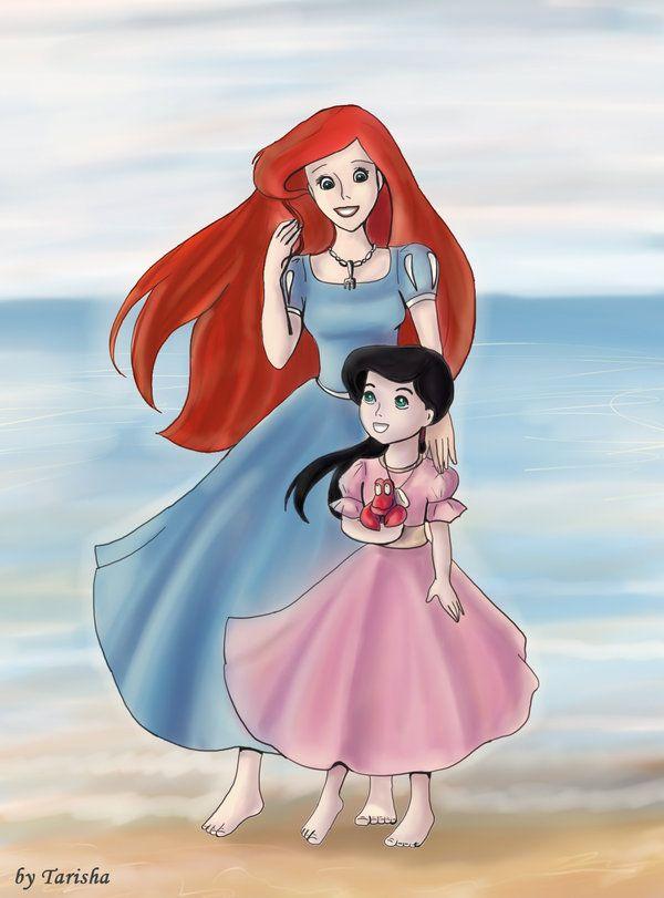 The Little Mermaid Melody Grown Up | Melody Ariel and Melody