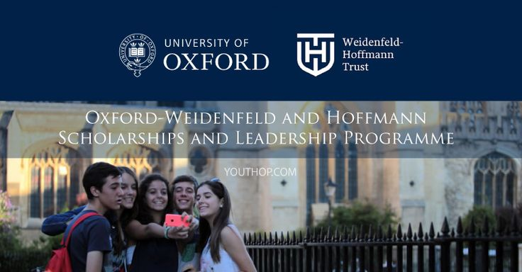 Full #scholarship for #international #students pursuing full-time graduate degrees at the University of Oxford. The scholarship will cover 100% of University and college fees and a grant for living costs. See Details ~ Deadline: January 20, 2017