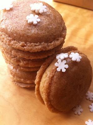 Las recetas de la familia Tartufo: Macarons de turrón