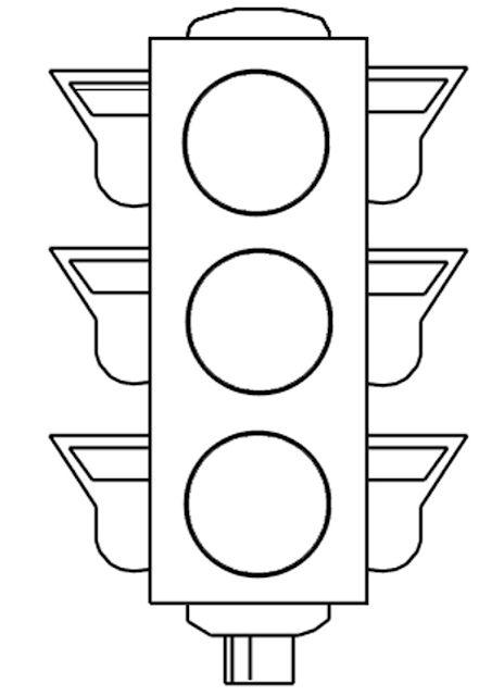 картинки для раскрашивания светофор для малышей что под