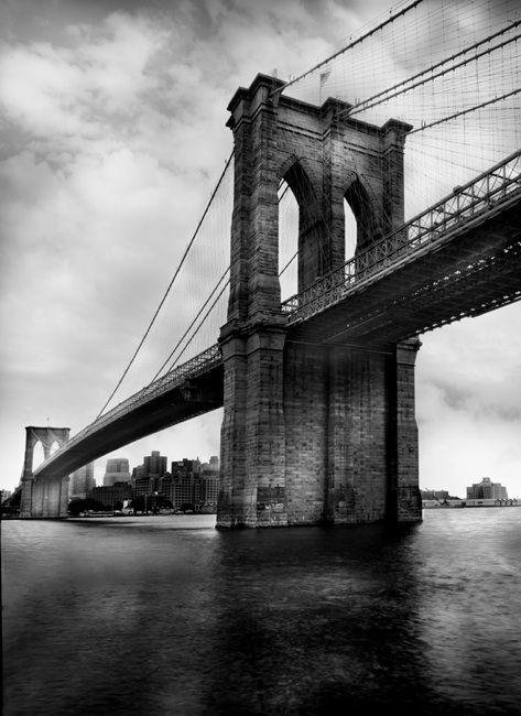 Brooklin bridge 1 jean michel berts · jean michelbrooklyn bridgethe artistcity photographyusa