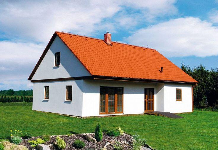 I vzhled selského stavení může mít montovaný dům firmy MS Haus. Stěna pro pasivní domy (MS Pasiv) má tloušťku 39 cm. MS Haus.
