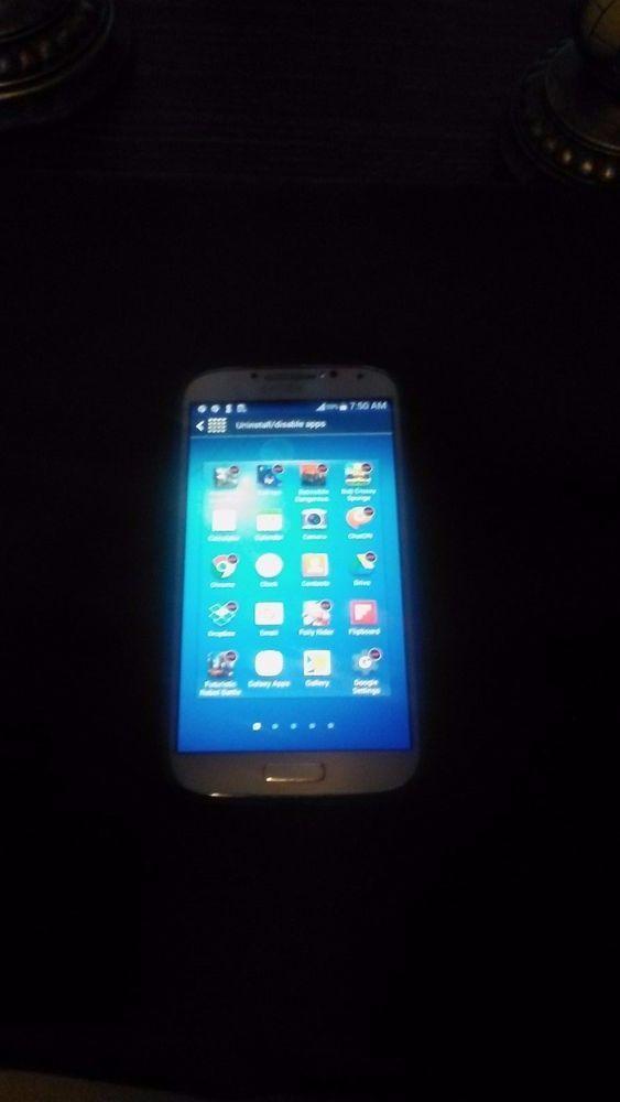 Very Nice, Samsung Galaxy S4 SGH-M919 TMobile 16GB White-pre-owned #Samsung #Smartphone