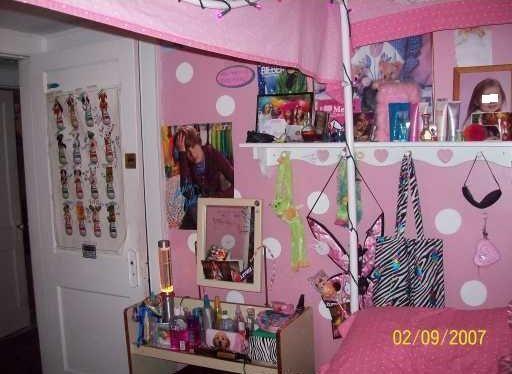 Playboy bunny Justin Bieber poster teenage girl's bedroom Waterbury Connecticut home