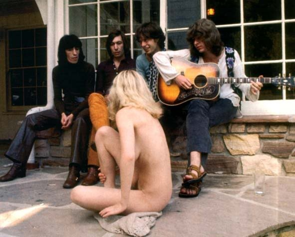 rolling stones, laurel canyon