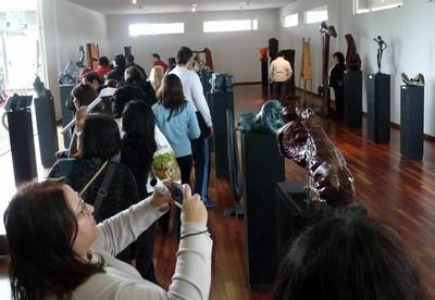 Visita de turistas tucumanos