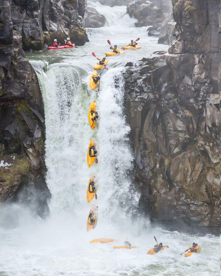 Adventure - Extreme kayaking, Chile