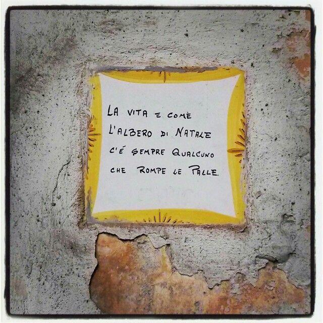 Saggezza a Napoli...