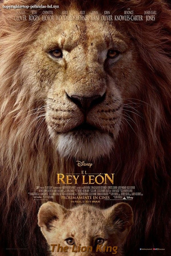 The Lion King 2019 Pelicula Completa En Espanol Latino Lion King Movie Watch The Lion King Lion King