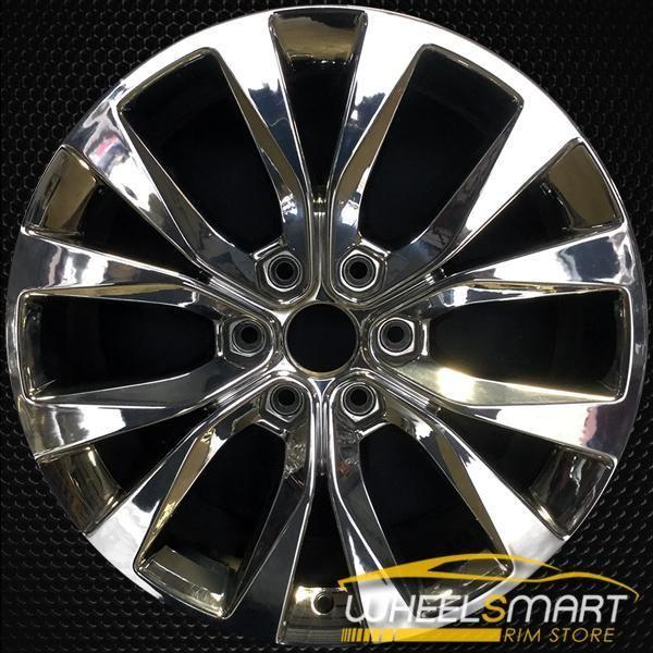 20 Ford F150 Oem Wheel 2015 2018 Chrome Alloy Stock Rim 10003