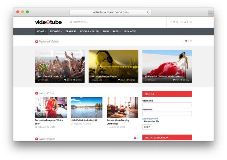 1762 besten WordPress Themes Bilder auf Pinterest | Wordpress theme ...