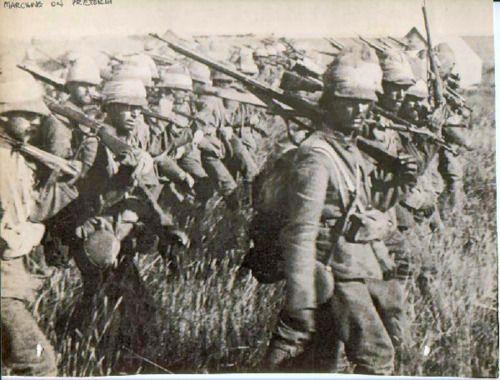 British soldiers, Boer war