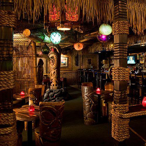 76 best tiki images on pinterest tiki tiki tiki decor for Tiki room decor