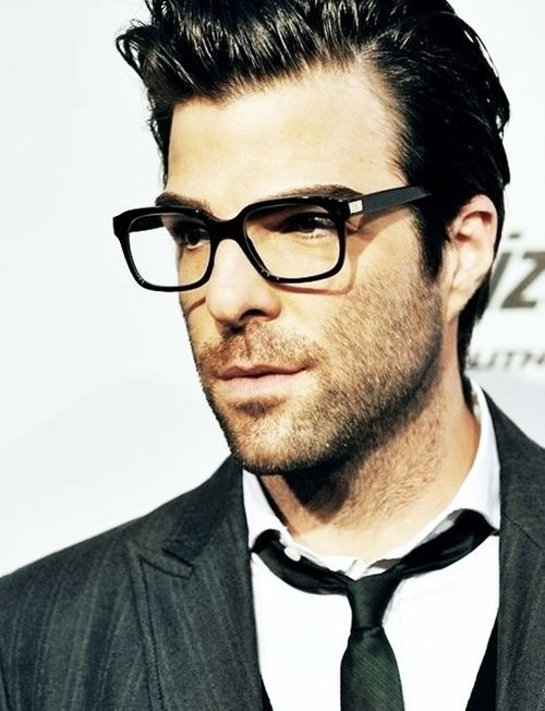 Zachary Quinto with glasses is better than regular Zachary Quinto.