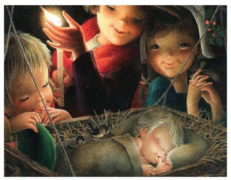 Postal de Navidad - Ferrándiz