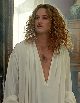 The brilliant Evan Williams as the Chevalier de Lorraine in the hit canal+ series Versailles