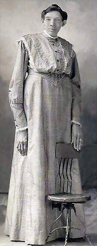 Ella Ewing 1872-1913 aka The Missouri Giantess