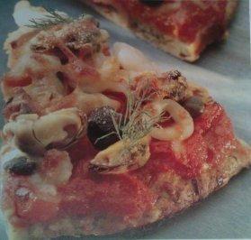 Das perfekte Pizza Frutti di Mare auf einer Tomaten-Paprika-Sauce-Rezept mit einfacher Schritt-für-Schritt-Anleitung: Den Backofen auf 200° C vorheitzen…