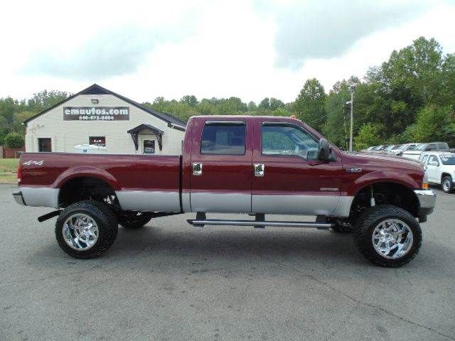 www emautos com just lifted 2004 ford f 350 super duty xlt crew cab 4x4 long bed srw diesel. Black Bedroom Furniture Sets. Home Design Ideas