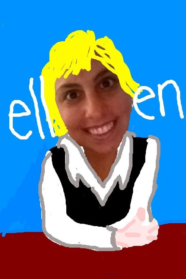 34 Ellen Degeneres | Community Post: 47 Snapchat Ideas You Don't Need To Think Of On Your Own
