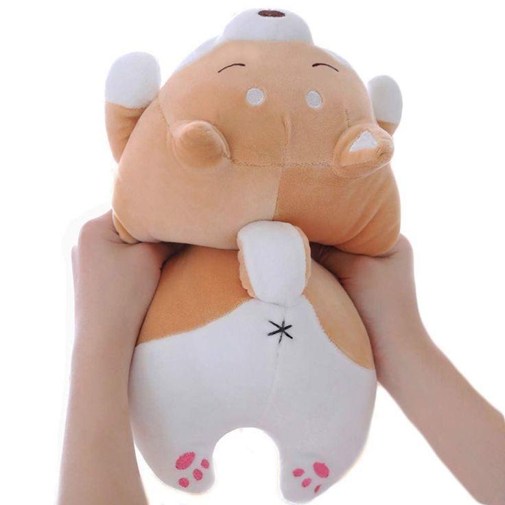 Shiba Inu Hund Plusch Kissen Weiche Susse Corgi Kuscheltiere Puppe