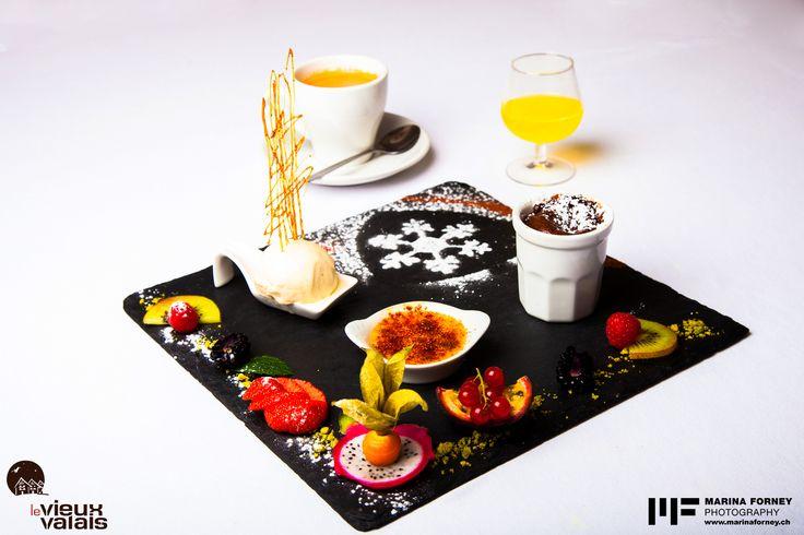 Restaurant Ovronnaz, Café gourmand
