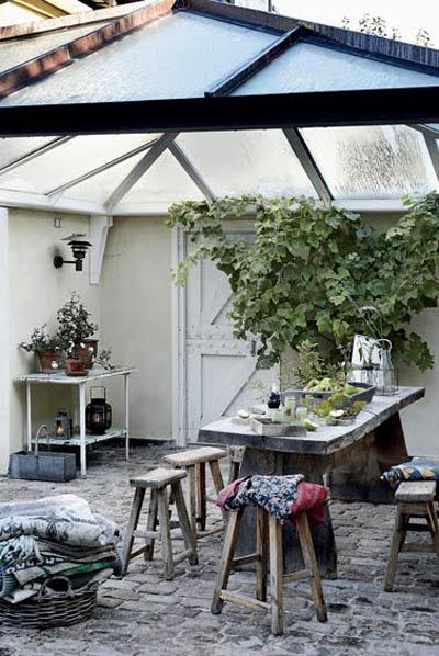 .: Glasses Roof, Art Studios, Outdoor Living, Indoor Gardens, Outdoor Patio, Back Porches, Covers Porches, Outdoor Area, Outdoor Spaces