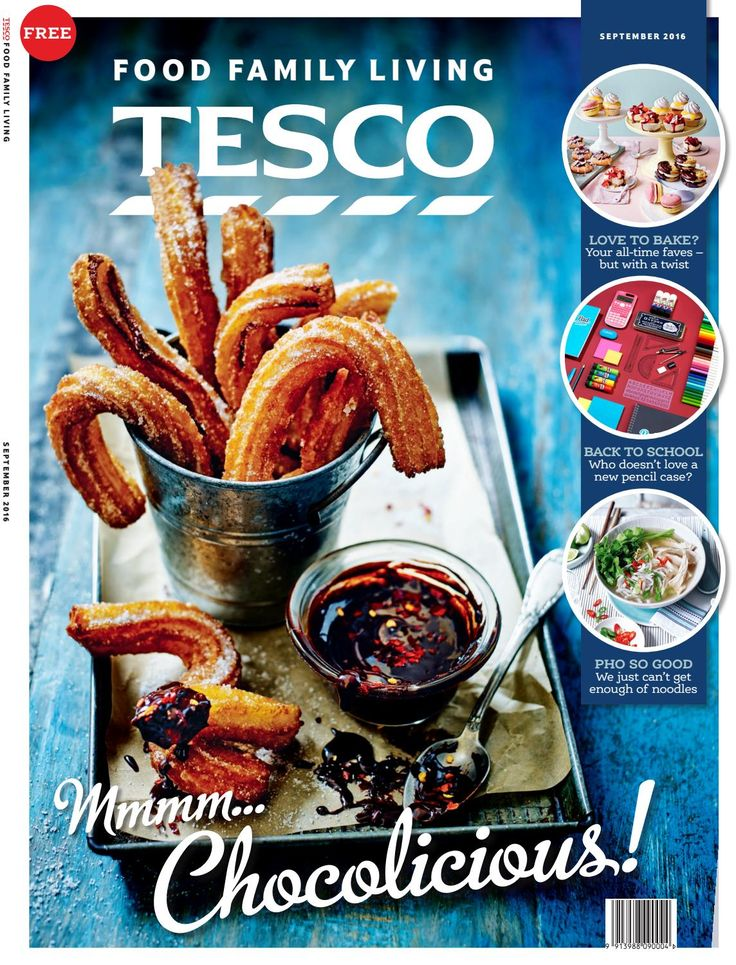 Tesco magazine – September 2016