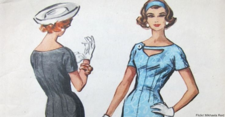 A Look Back at Vintage Sewing Patterns is Reminder of How Wonderfully We Used to Dress