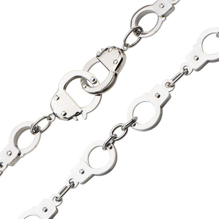 Steel Multi-Handcuff Necklace